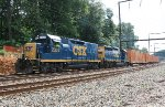 CSX Road Slug #2303 on Q706-11